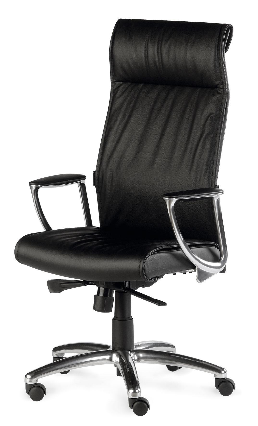 fauteuil pr sident cuir avec renfort lombaire stanley sitek faute. Black Bedroom Furniture Sets. Home Design Ideas