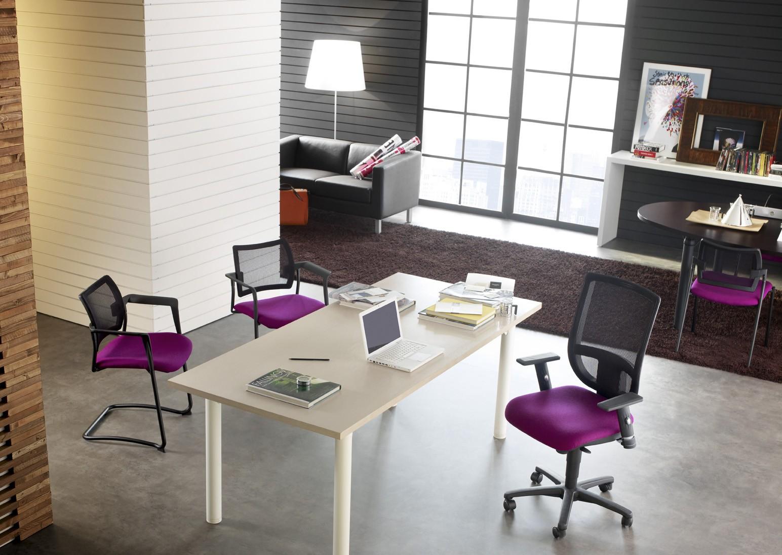 si ge de bureau tertio avec dossier r sille sokoa si ges de burea. Black Bedroom Furniture Sets. Home Design Ideas