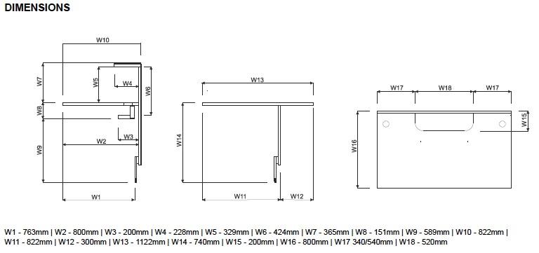 grande banque d accueil lumineuse droite s rie linea avec acc s pmr. Black Bedroom Furniture Sets. Home Design Ideas