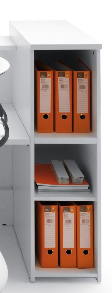 bureau d accueil lumineux en angle mod le valde avec. Black Bedroom Furniture Sets. Home Design Ideas
