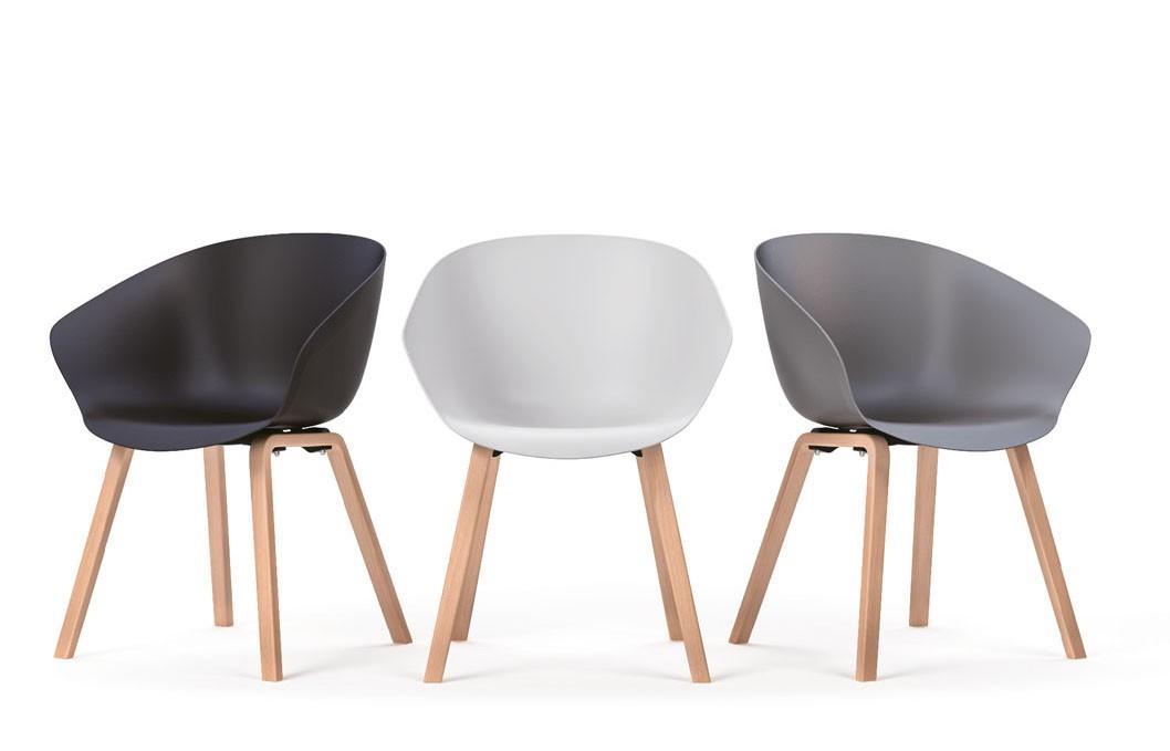 Chaise visiteur avec accoudoirs elegant chaises visiteurs with chaise visiteur avec accoudoirs - Chaises visiteurs design ...