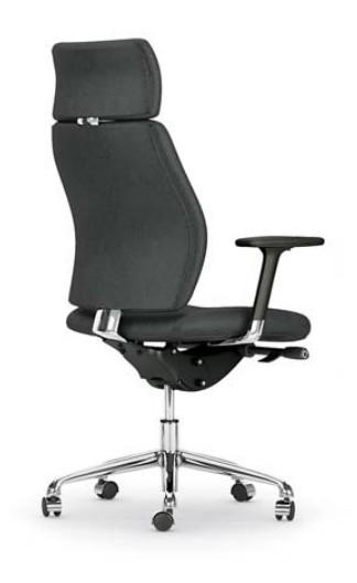 fauteuil de direction cuir creta mobel linea fauteuils de directi. Black Bedroom Furniture Sets. Home Design Ideas