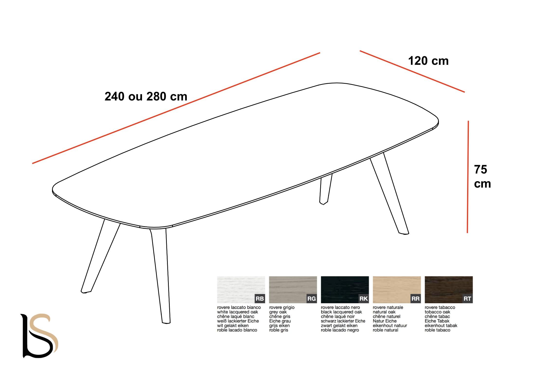 Plan De Travail Bois 280 table de réunion rail en bois– bralco. tables de réunion bralco